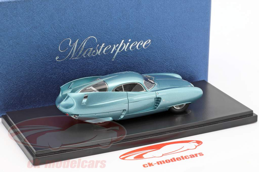 ... Alfa Romeo B.A.T. 7 Concept Car Turin Motor Show 1954 Light Blue  Metallic 1:43 ...