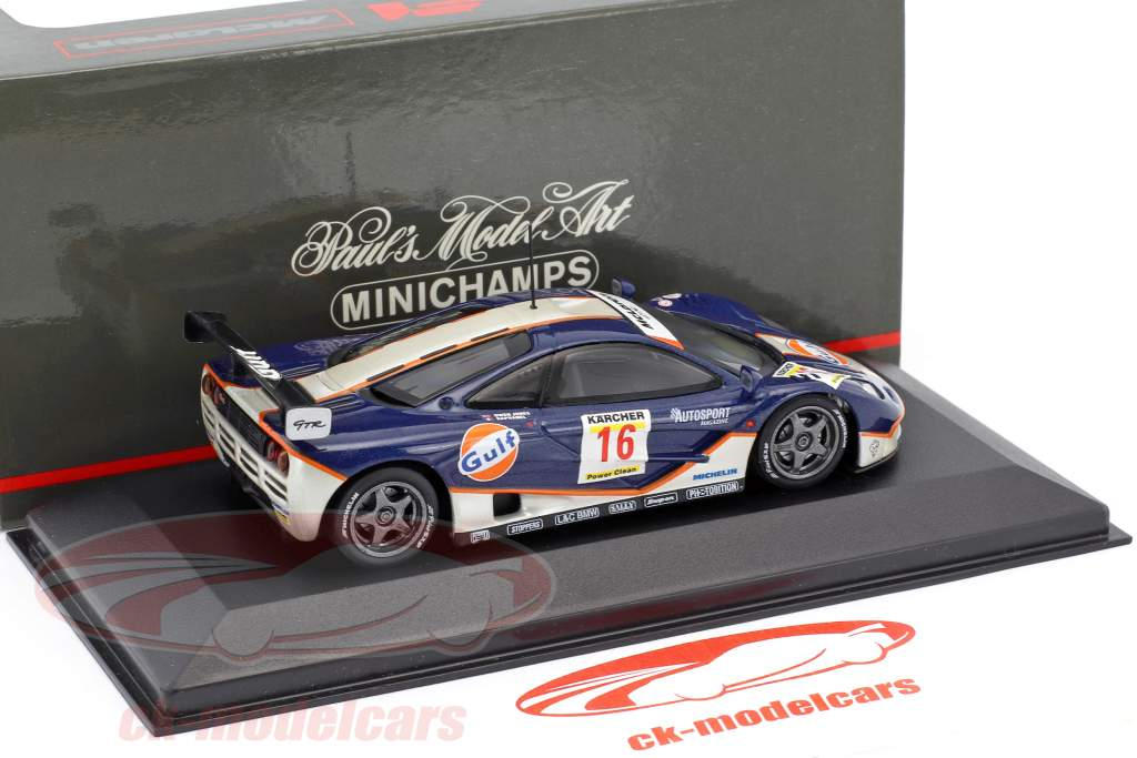 McLaren F1 GTR #16 Nurburgring 1995 Owen-Jones / Raphanel 1:43 Minichamps