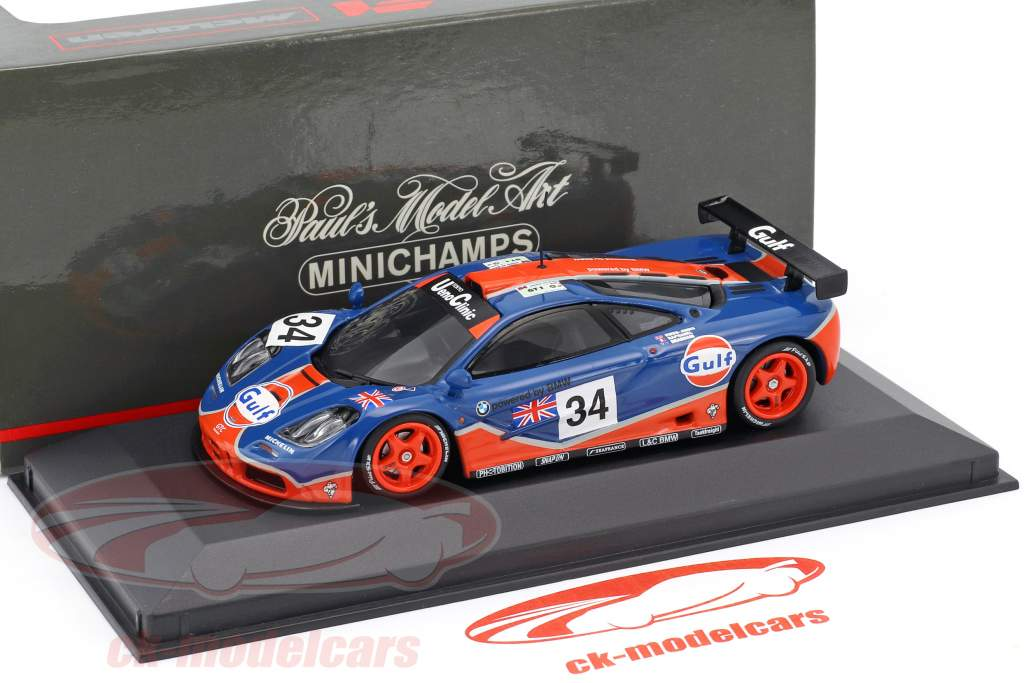 McLaren F1 GTR #34 24h LeMans 1996 Raphanel, Owen-Jones, Brabham 1:43 Minichamps