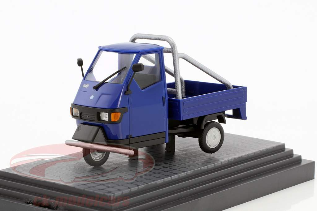 Piaggio Ape 50 Cross Country blue 1:43 Busch