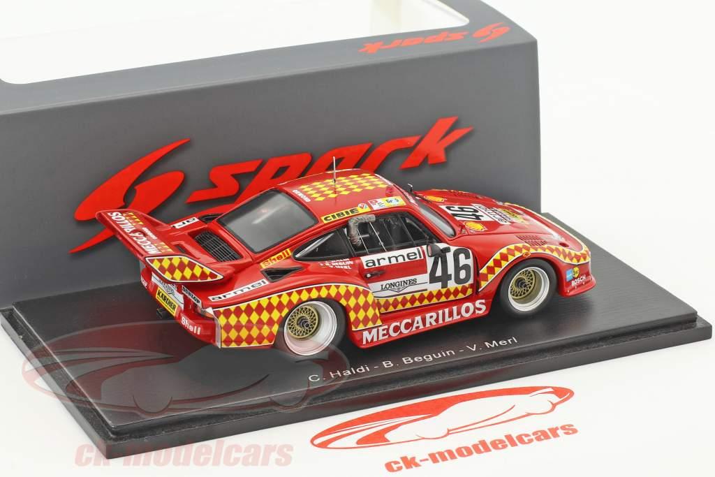 Porsche 935 #46 24h LeMans 1980 Haldi, Beguin, Merl 1:43 Spark