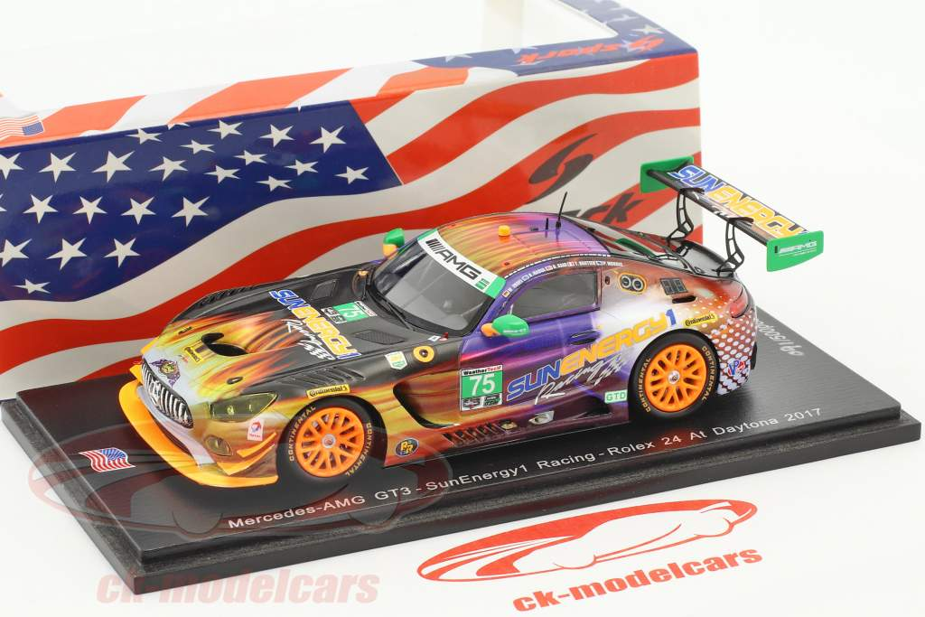 Mercedes-Benz AMG GT3 #75 24h Daytona 2017 SunEnergy1 Racing 1:43 Spark