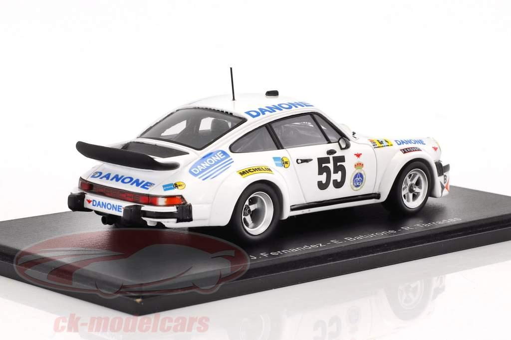 Porsche 934 #55 24h LeMans 1977 Fernandez, Baturone, Tarradas-Gorsas 1:43 Spark
