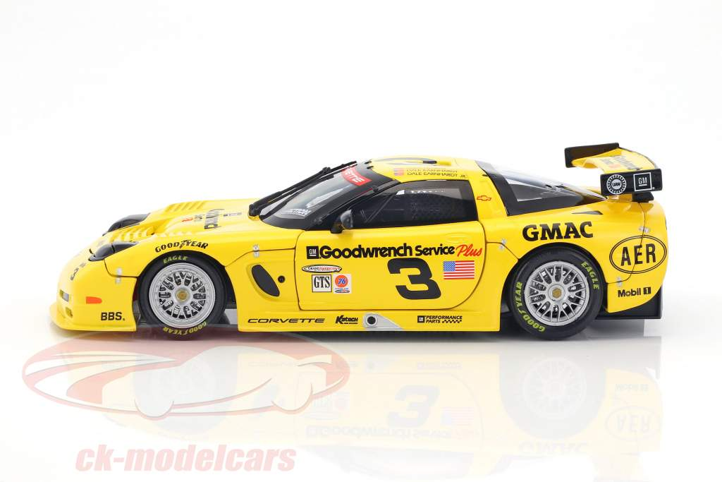 Chevrolet Corvette C5-R #3 24h Daytona 2001 Pilgrim, Earnhardt, Earnhardt Jr. 1:18 Action