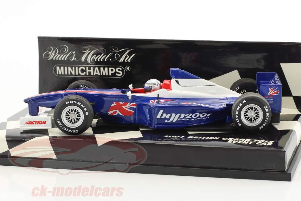Event Car britannico Grand Prix Silverstone formula 1 2001 1:43 Minichamps
