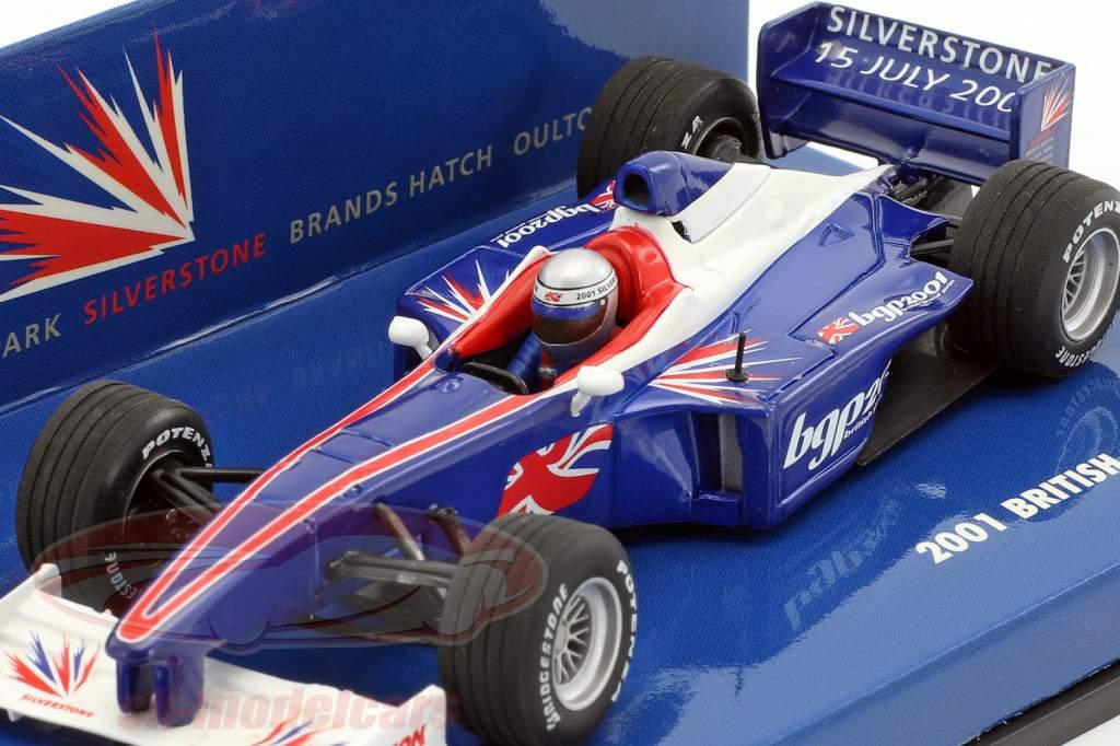 Event Car britannique Grand Prix Silverstone formule 1 2001 1:43 Minichamps