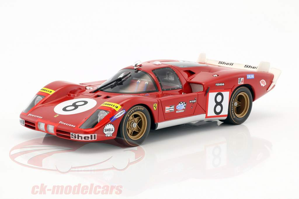 CMR expands Ferrari portfolio: The 512S in 1:18 scale