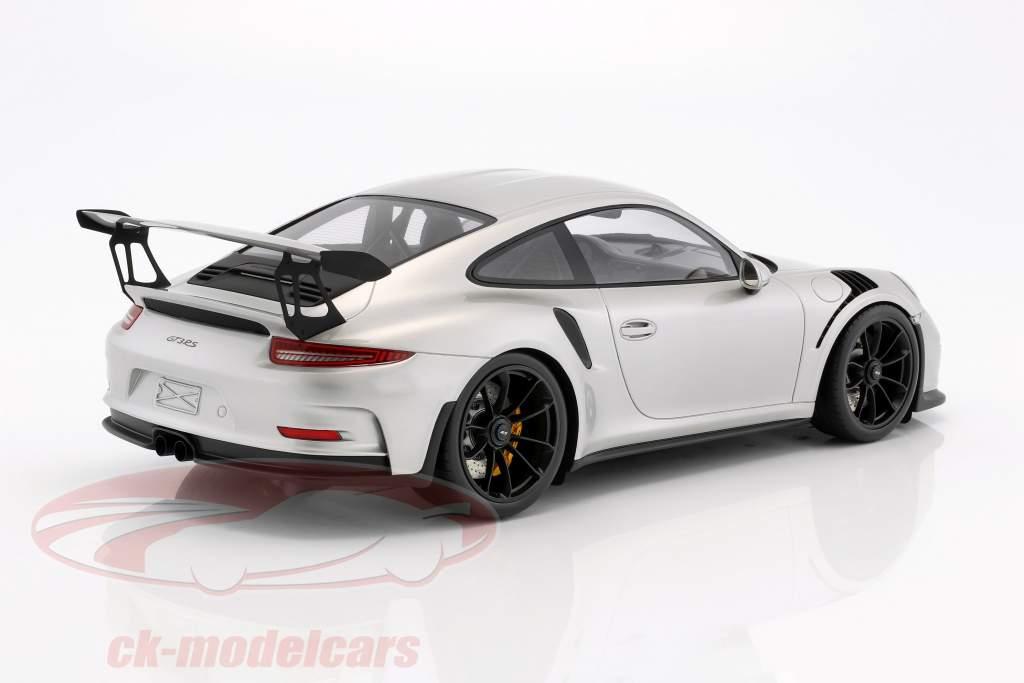 Porsche 911 (991) GT3 RS anno di costruzione 2016 argento 1:12 Spark