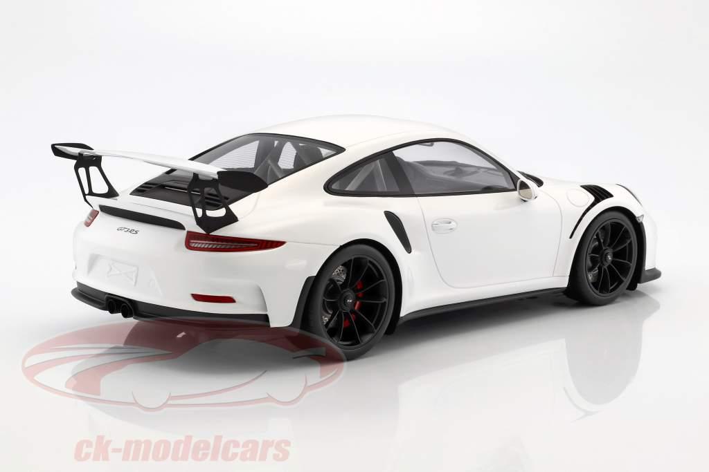Porsche 911 (991) GT3 RS année de construction 2016 blanc 1:12 Spark