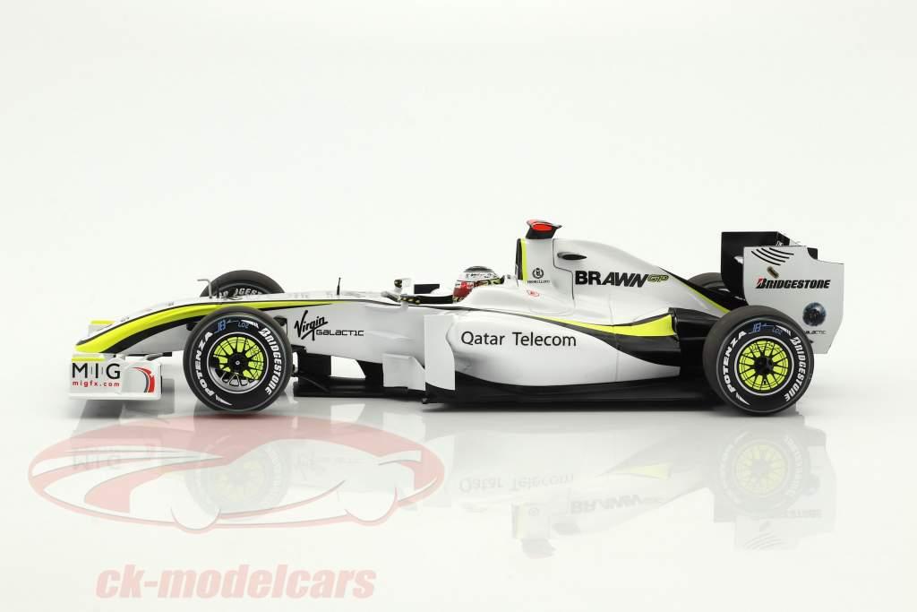 Jenson Button Brawn BGP 001 #22 World Champion Formel 1 2009 1:18 Minichamps