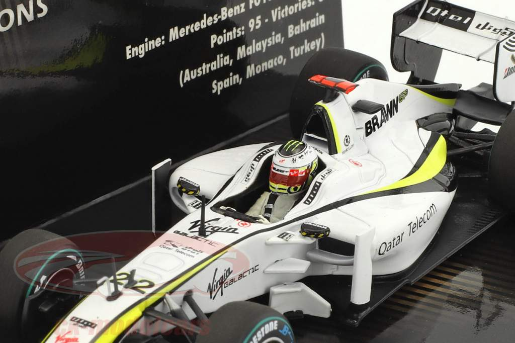 Jenson Button Brawn BGP 001 #22 World Champion formula 1 2009 1:43 Minichamps