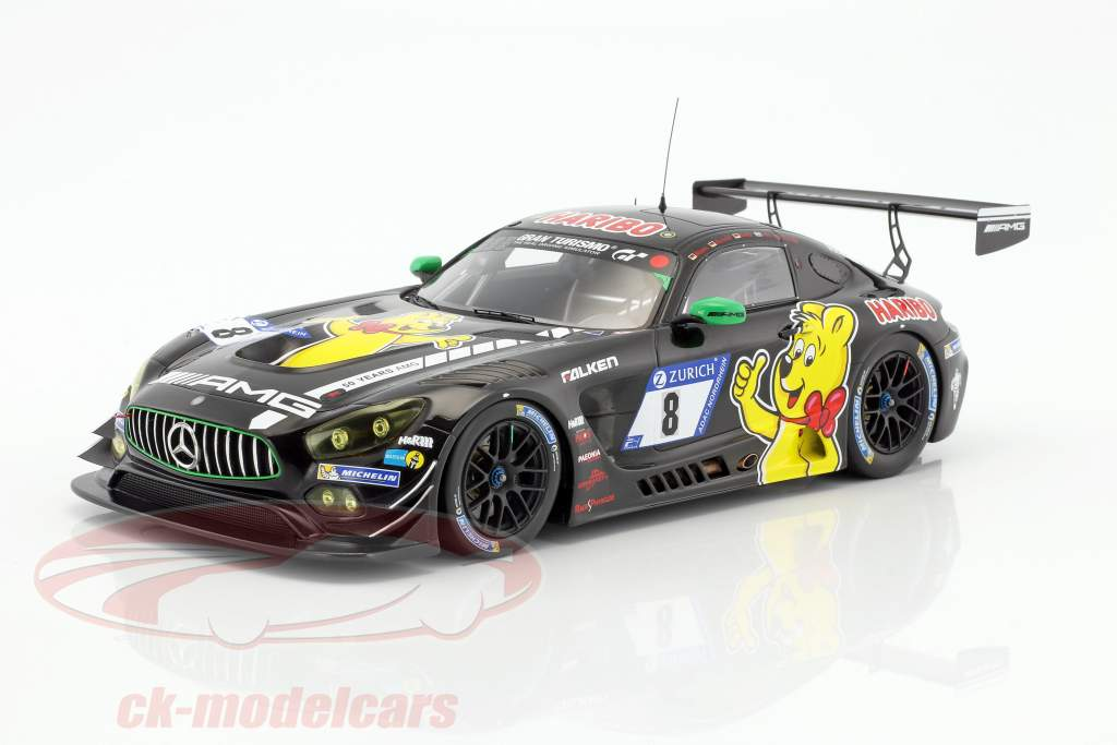 Mercedes-Benz AMG GT3 #8 9 24h Nürburgring 2017 Haribo Racing Team 1:18 Spark