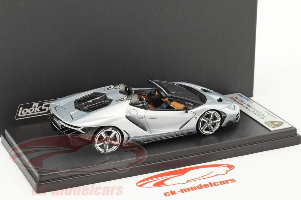 Lamborghini Centenario Roadster silver 1:43 LookSmart
