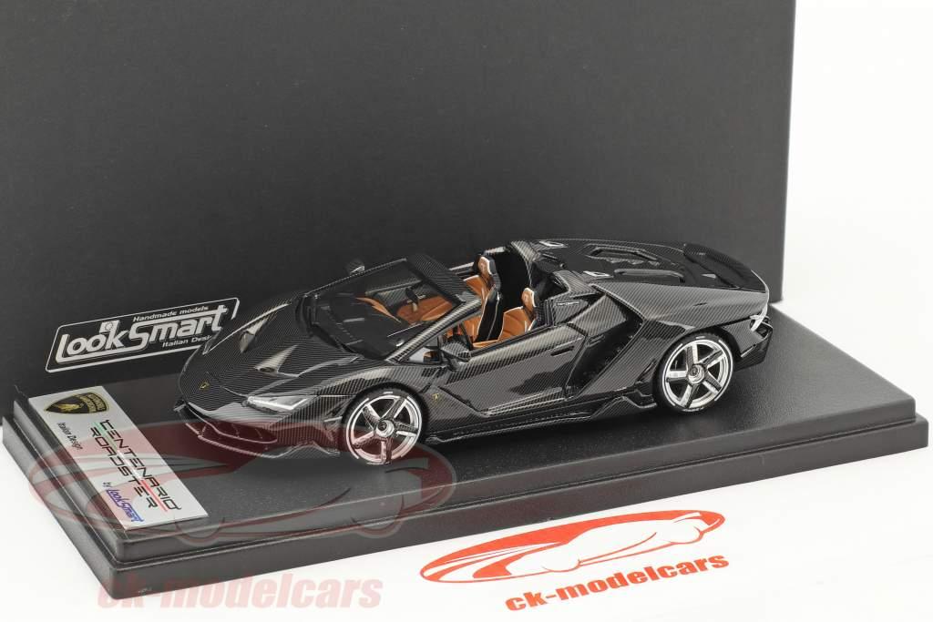 Lamborghini Centenario Roadster carbonium 1:43 LookSmart