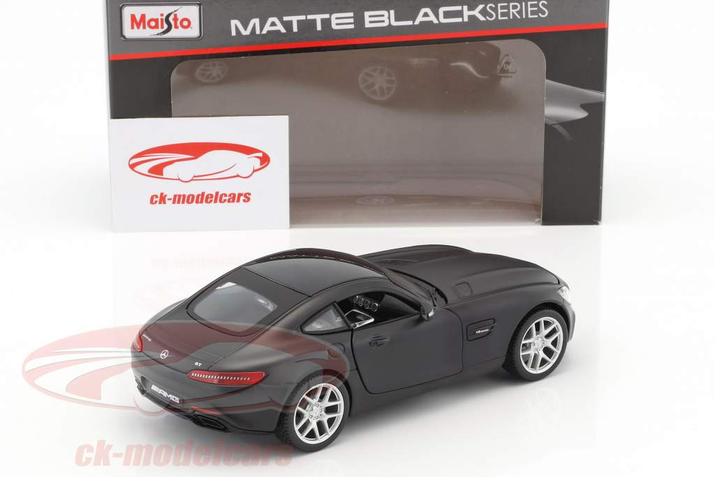 Mercedes-Benz AMG GT matt black 1:24 Maisto