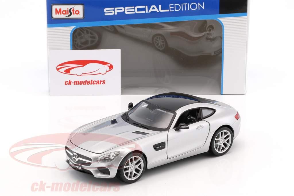 Mercedes-Benz AMG GT argent 1:24 Maisto