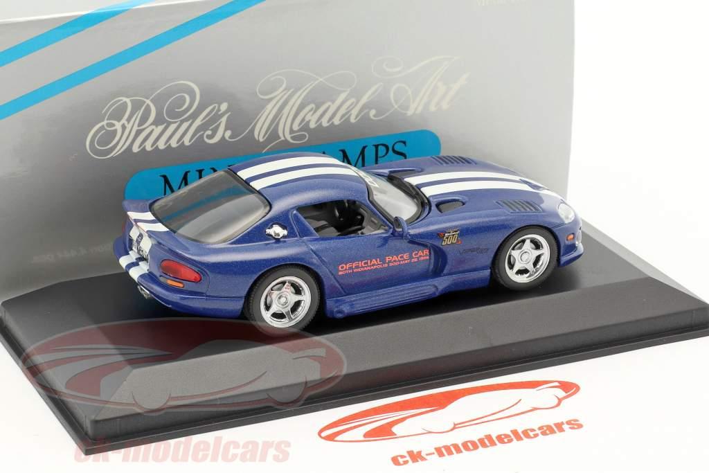 Dodge Viper Official Pace Car Indy 500 1996 1:43 Minichamps