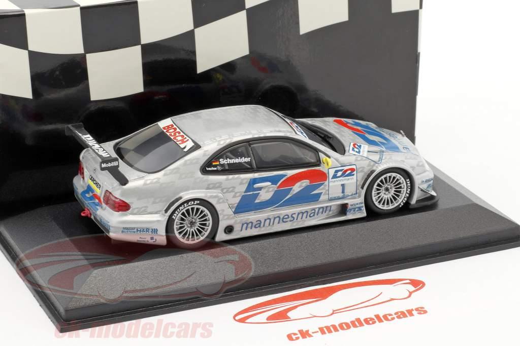 Bernd Schneider Mercedes-Benz CLK #1 DTM Champion 2000 squadra AMG 1:43 Minichamps