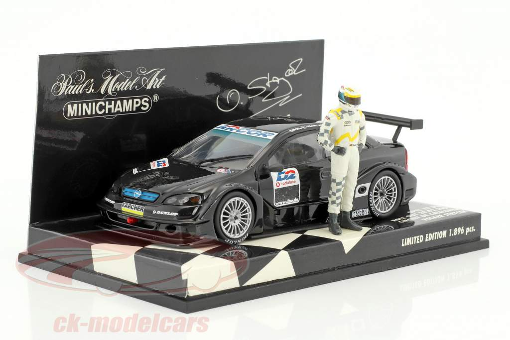 Volker Strycek Opel V8 DTM Roll Out Catalunya 2001 1:43 Minichamps