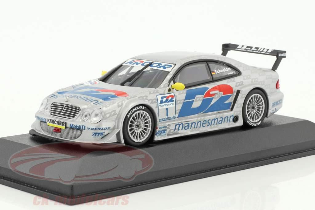 Bernd Schneider Mercedes-Benz CLK #1 DTM Champion 2000 team AMG 1:43 Minichamps