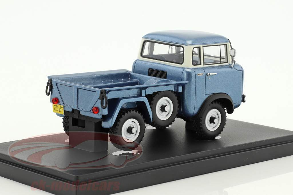 Willys Jeep FC-150 Pick-Up year 1956 Light Blue metallic 1:43 AutoCult