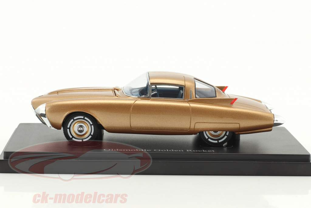 Oldsmobile Golden Rocket Concept Car year 1956 gold metallic 1:43 AutoCult