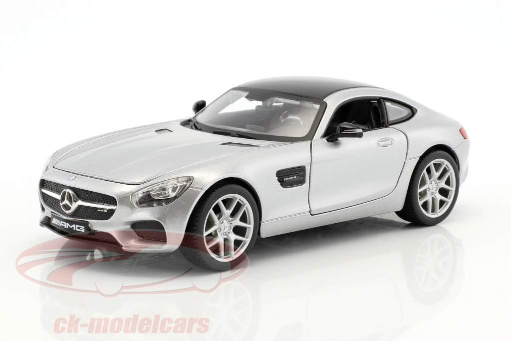 Mercedes-Benz AMG GT silver 1:24 Maisto