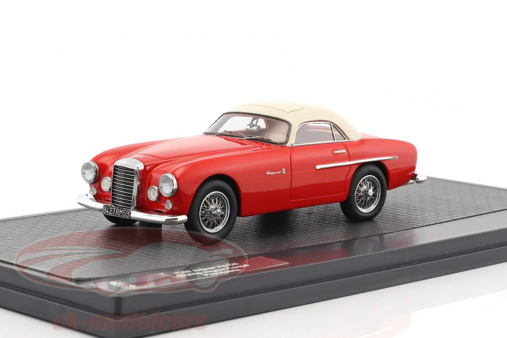 Jaguar XK 120 Flying Coupe Pininfarina year 1952 red / white 1:43 Matrix