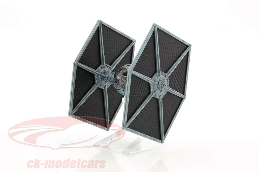 Tie Fighter Star Wars V The Empire strikes back (1980) schwarz / silberblau 1:18 HotWheels Elite