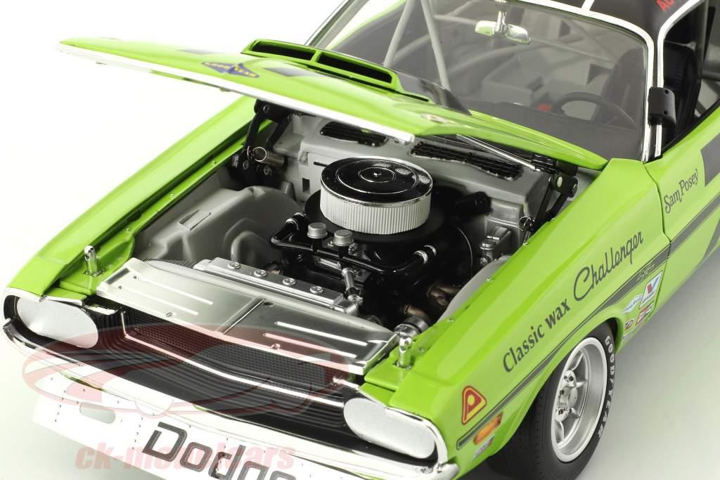 Dodge Challenger #77 Trans Am 1970 Sam Posey 1:18 GMP