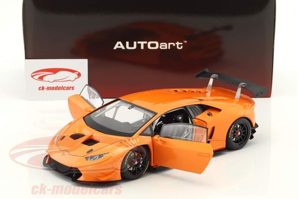 Lamborghini Huracan LP620-2 Super Trofeo Baujahr 2016 orange metallic 1:18 AUTOart
