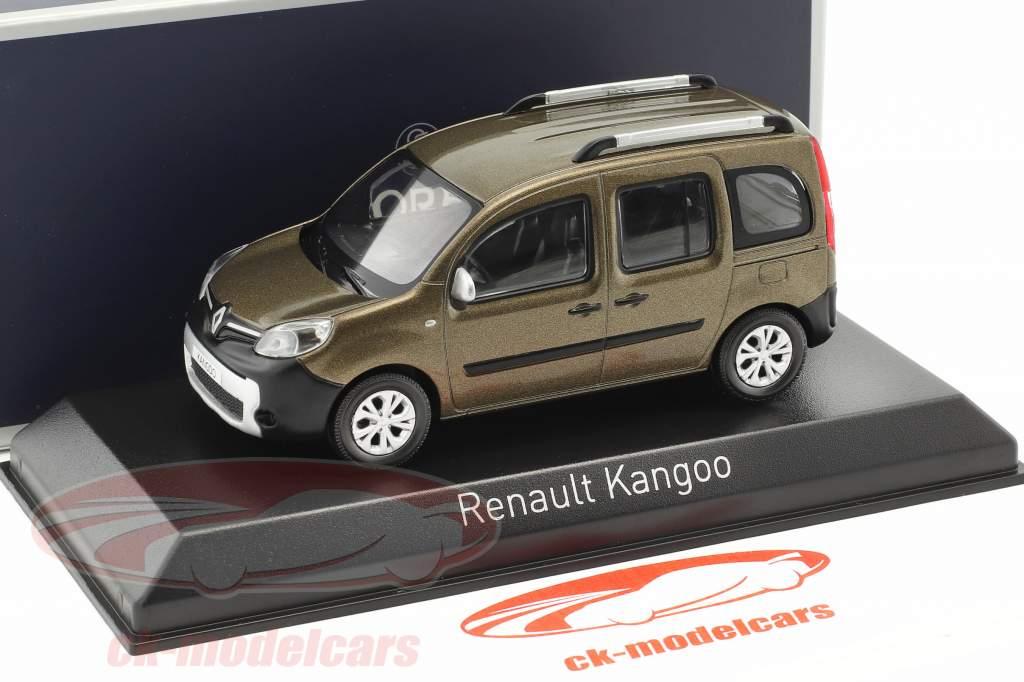 Renault Kangoo Van year 2013 brown 1:43 Norev