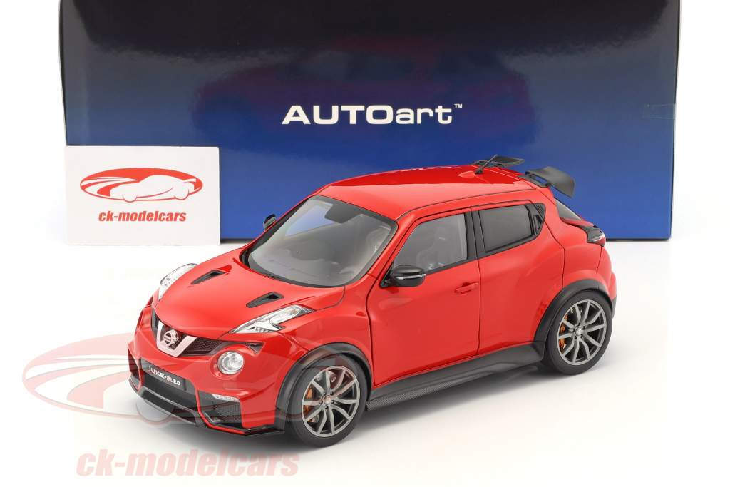 Nissan Juke R 2.0 year 2016 red 1:18 AUTOart