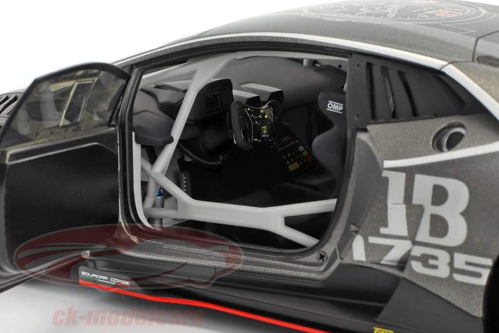 Lamborghini Huracan LP620-2 Super Trofeo #63 anno di costruzione 2016 titanio grigio 1:18 AUTOart