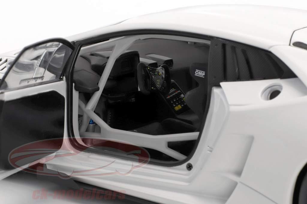 Lamborghini Huracan LP620-2 Super Trofeo anno di costruzione 2016 bianco 1:18 AUTOart