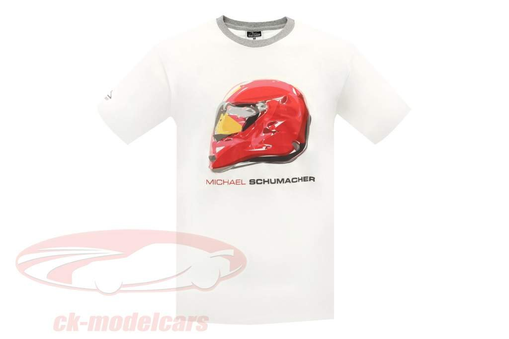 Michael Schumacher T-Shirt Champion Icon Tour 2011 bianco