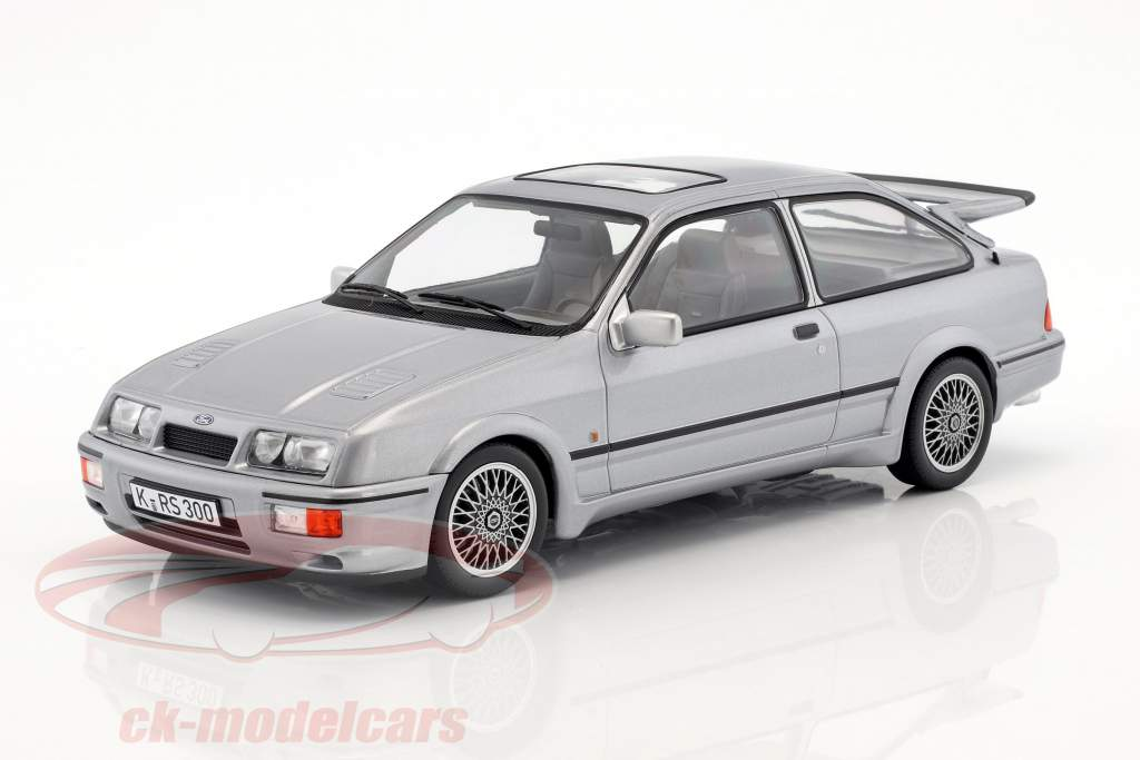 Ford Sierra RS Cosworth year 1986 Gray metallic 1:18 Norev