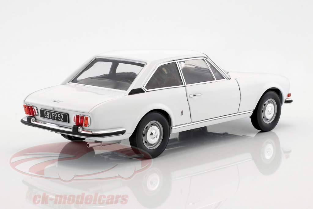 Peugeot 504 Coupe year 1969 white 1:18 Norev