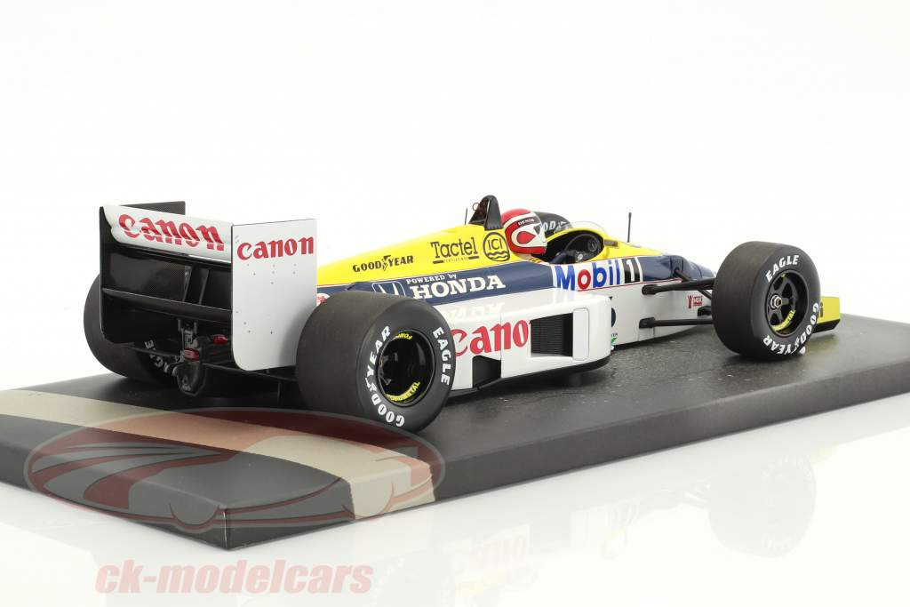 Nelson Piquet Williams Honda FW11 #6 formula 1 1986 1:18 Minichamps