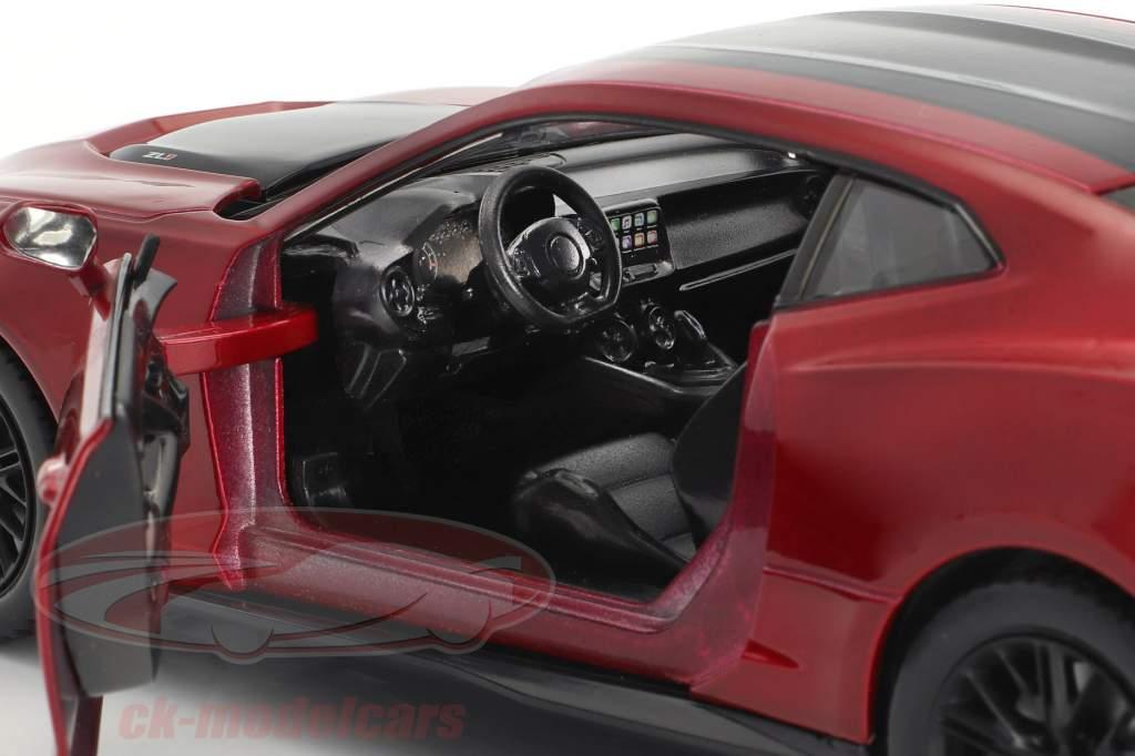 Chevrolet Camaro ZL1 Baujahr 2017 rot / schwarz 1:24 MotorMax