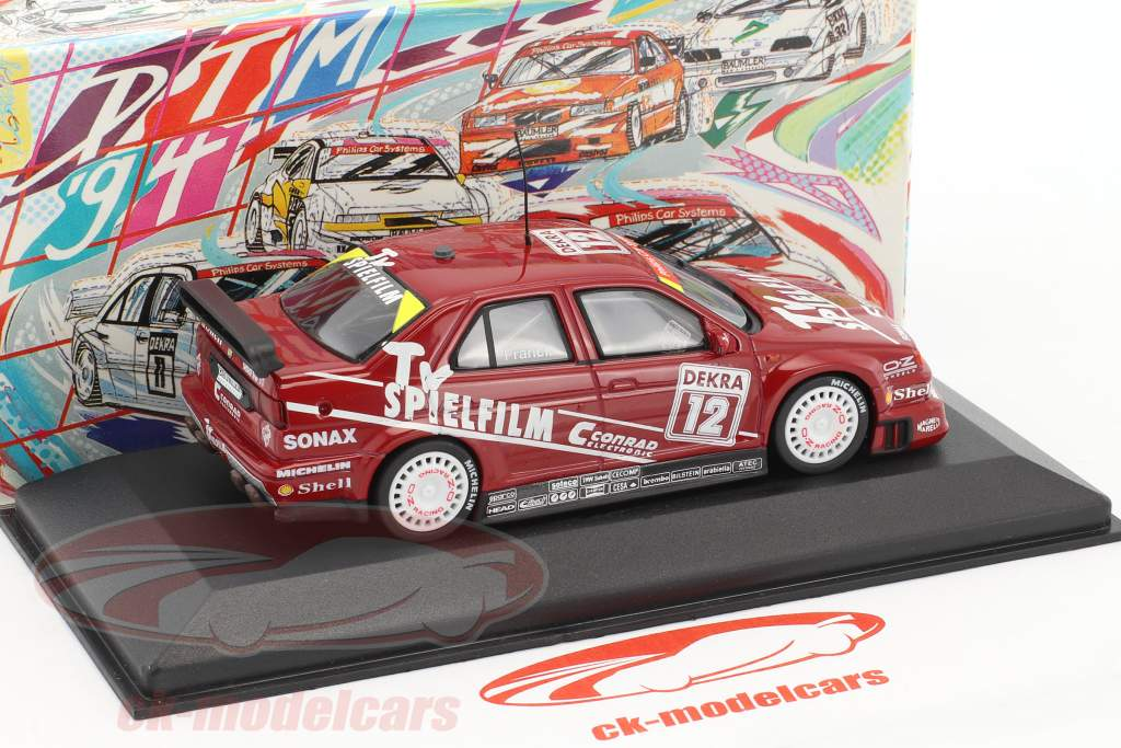 Alfa Romeo 155 V6 TI #12 DTM 1994 Giorgio Francia 1:43 Minichamps