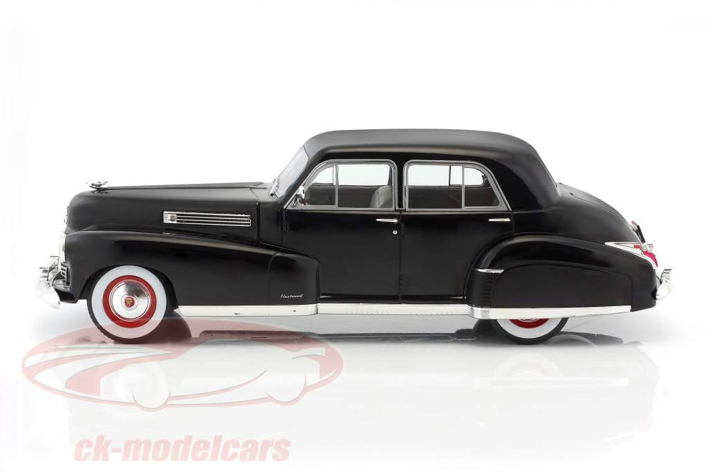 Fleetwood Series 60 Special Sedan année de construction 1941 noir 1:18 Model Car Group