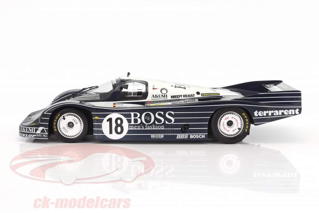 Porsche 956 #18 24h LeMans 1983 Plankenhorn, Wilson, Lässig 1:12 TrueScale