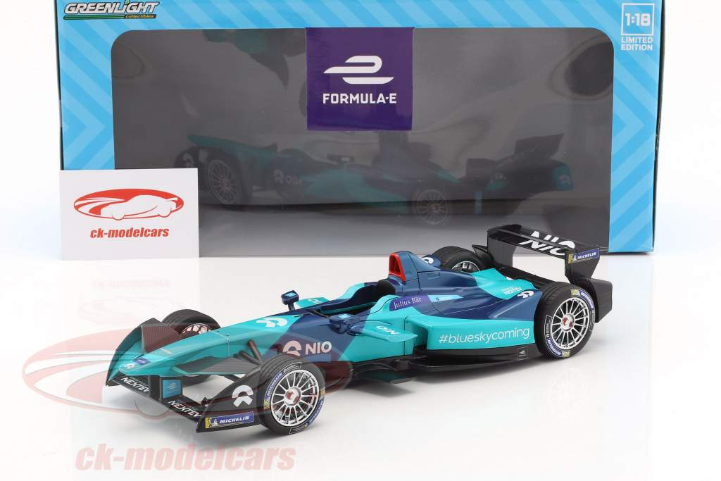 NextEV NIO Sport 003 NIO Formel E Team 2018 1:18 Greenlight