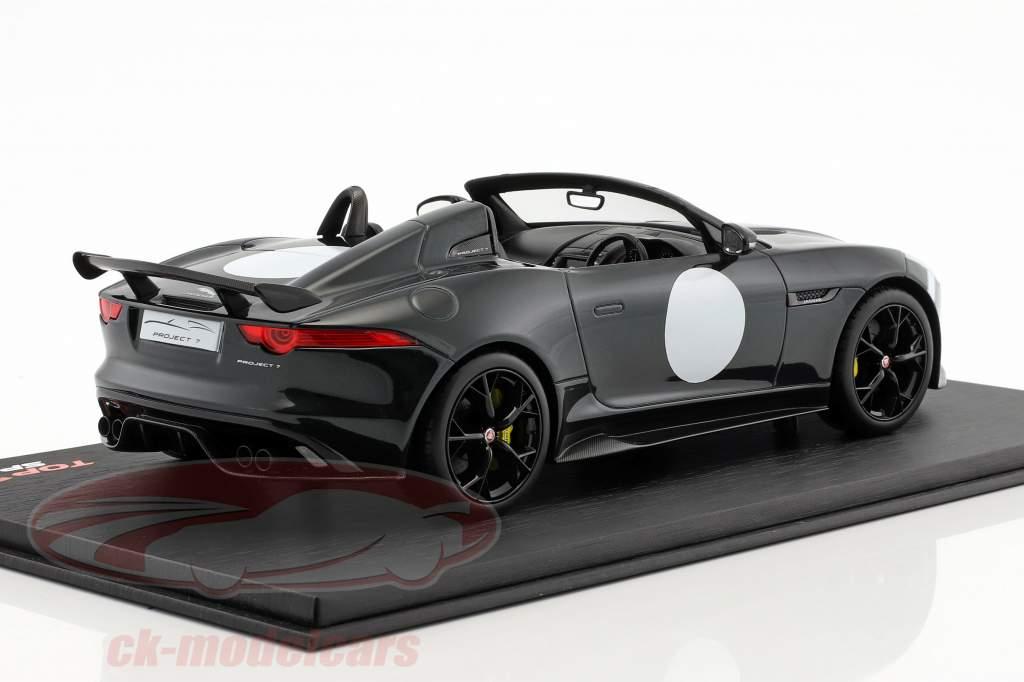 Jaguar F-Type Project 7 British Racing année de construction 2015 vert métallique 1:18 TrueScale
