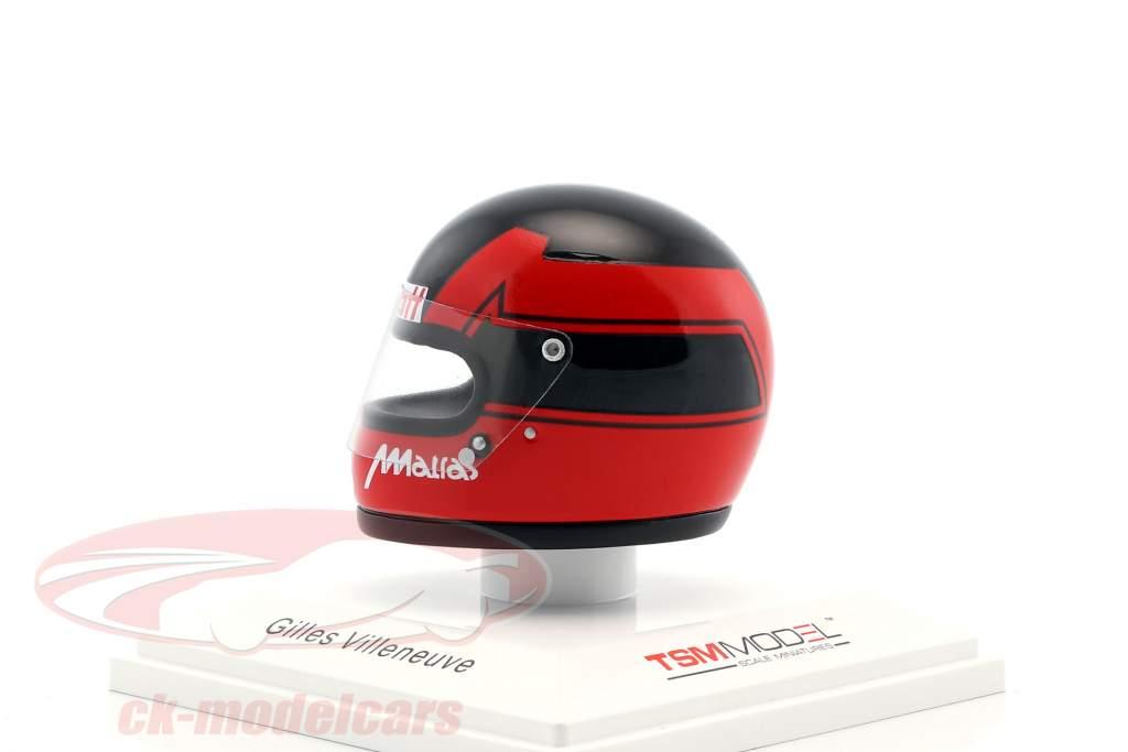 Gilles Villeneuve Scuderia Ferrari SpA SEFAC formula 1 1978 helmet 1:8 TrueScale