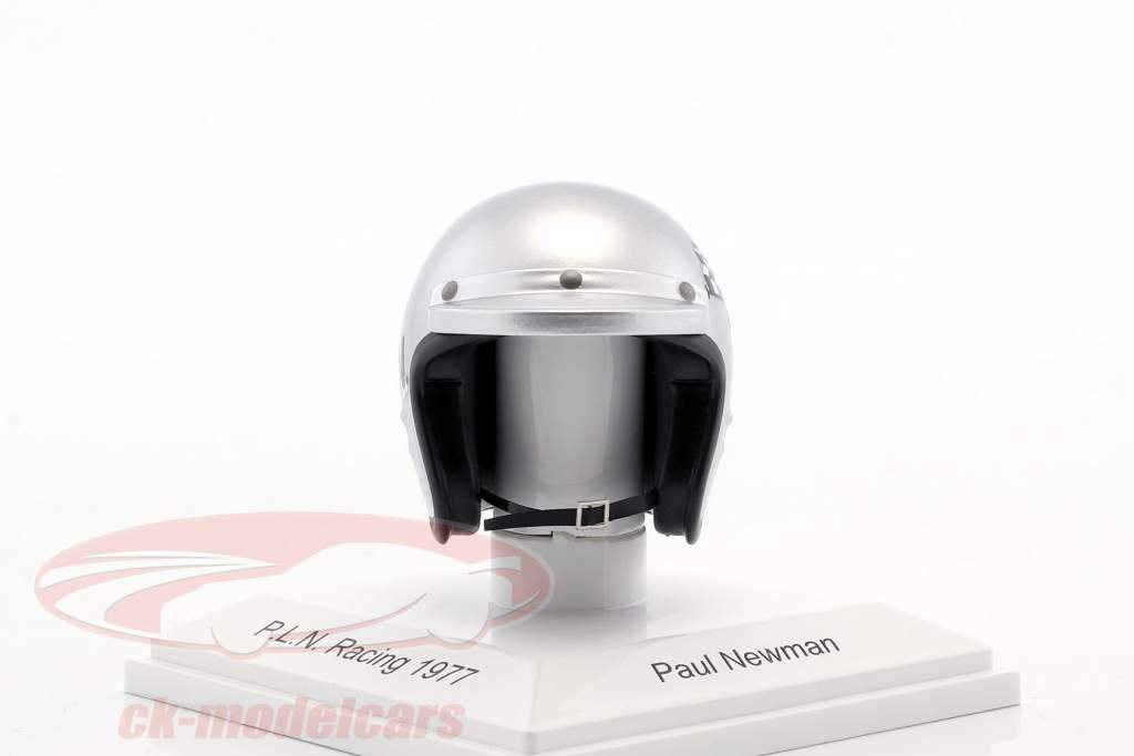 Paul Newman P.L.N. Racing 1977 casque 1:8 TrueScale