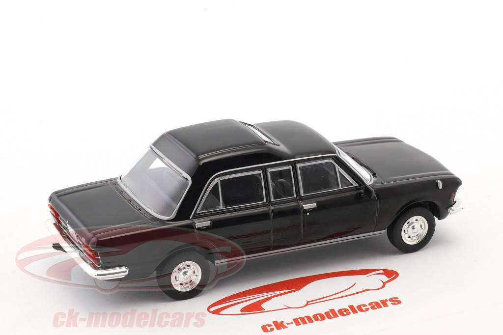 Fiat 130 papamobile noir 1:43 Altaya