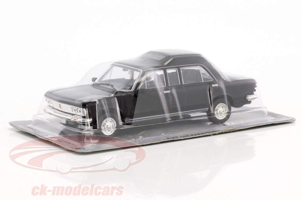 Fiat 130 Papamobil schwarz 1:43 Altaya