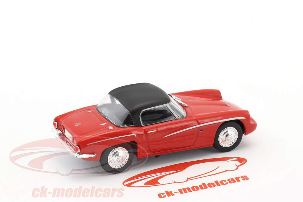 Syrena Sport year 1960 red / black 1:43 Altaya
